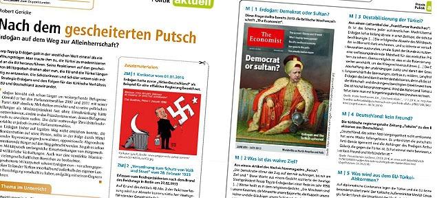 Almanya'nın Kuzey Ren Vestfalya eyaletinde öğrencilere siyaset dersinde Erdoğan'ın Hitler'e benzediği öğretildi!