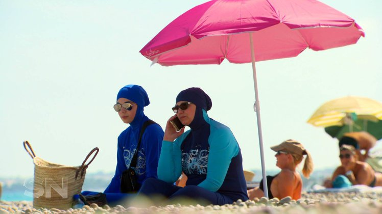 Australian woman forced off French beach for wearing a burkini