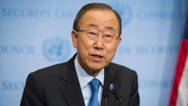 Ban-Ki Moon calls Netanyahu's ethnic cleansing remarks 'unacceptable, 'outrageous'