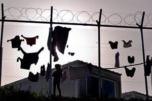 Unaccompanied children detained in Greece
