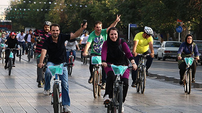 Iran religious leader issued a fatwa forbidding women from cycling in public