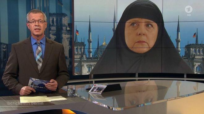 Müslüman kadın başörtüsünü çıkarmayı reddettiği için Almanya'da restorandan kovuldu