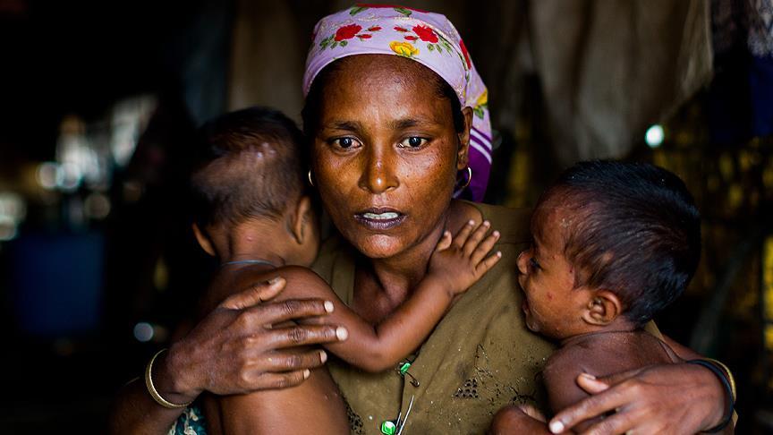 المسلمون الروهينغا يطالبون المجتمع الدولي بالتدخل ضد الإبادة التي يتعرضون لها من قبل سلطة ميانمار التاريخ: تشرين الثاني 2016 – الدولة: ميانمار