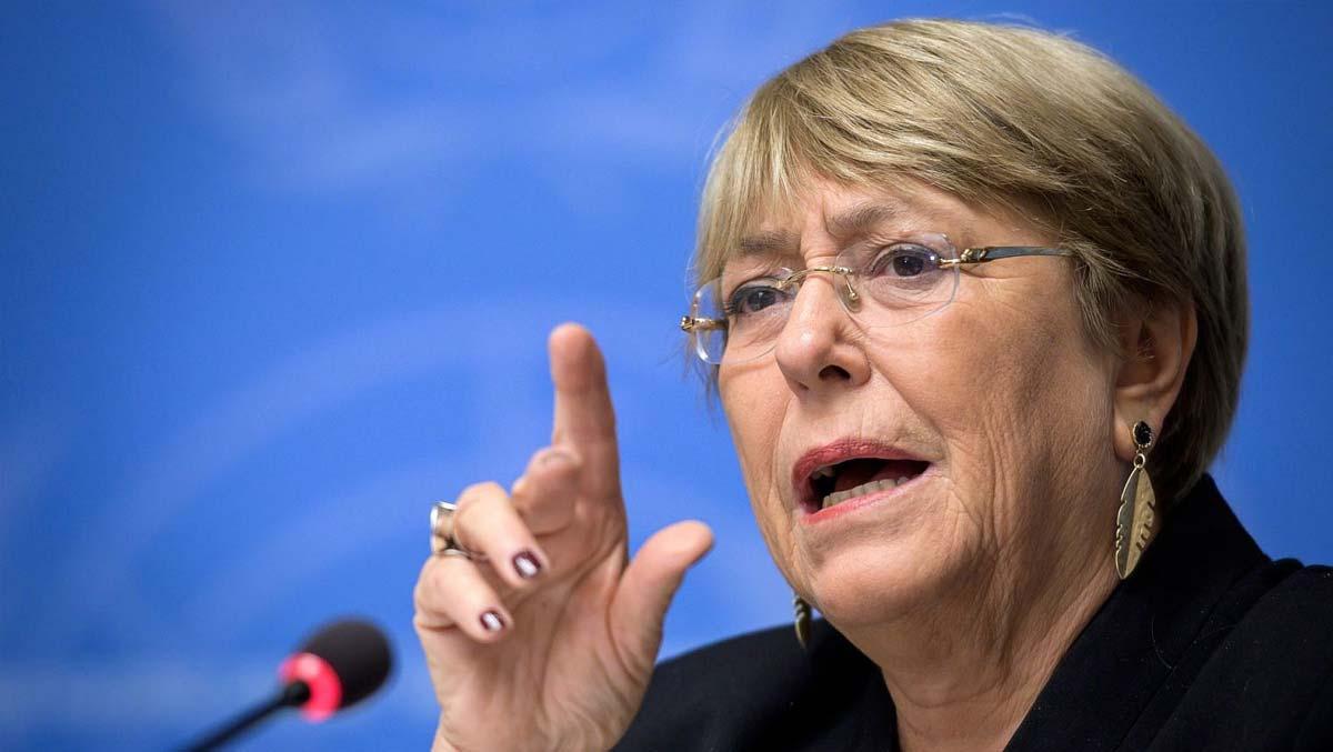 UN's Michelle Bachelet says Israel's annexation plans 'illegal'
