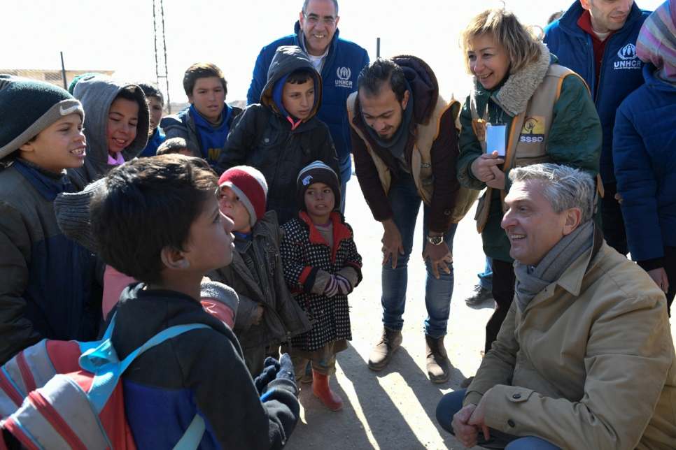 UN refugee chief warns developed countries against politicizing plight of refugees