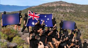 Avustralya'da Nazi sempatizanı gruptan ırkçı sembollü doğa kampı
