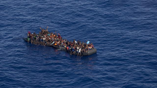 Akdeniz göçmenlerin durumu