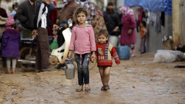 Mülteci sorunu çocuklar