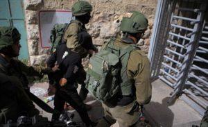 İsrail-güçleri-gözaltı